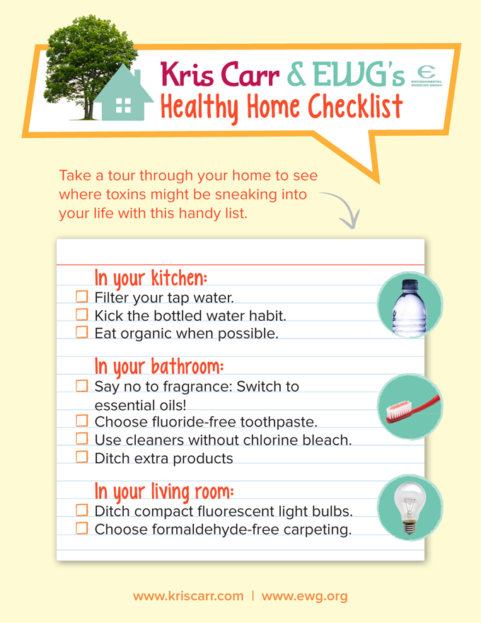 Keep your home healthy with this toxinreducing checklist