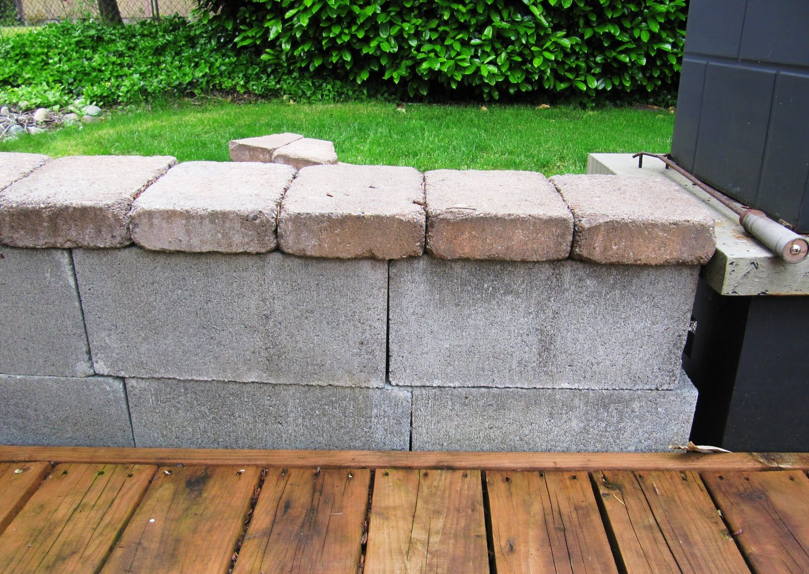 Beautifying Concrete Block; Guest. Concrete BlocksConcrete WallGarden ...