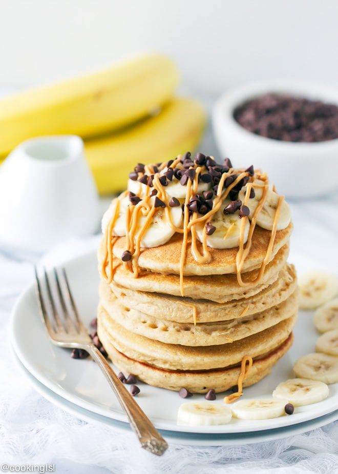 Print Recipe Jump to RecipeThese Whole Wheat Peanut Butter Pancakes are extremely easy to make and perfect for a holiday breakfast! Made with SKIPPY® Natural Creamy Peanut Butter Spread. Add some colorful holiday sprinkles to make this breakfast more festive. #Skippyyippee Hi guys! How is your weekend going? It is freezing around here. I just made these …