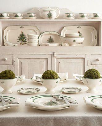 Christmas Tree Dinnerware Collection China Pinterest Christmas
