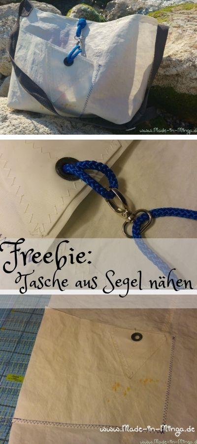 Photo of Tasche aus altem Segel nähen – gratis Anleitung – HANDMADE Kultur