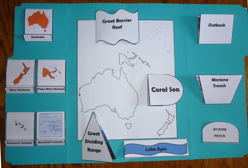 Oceania Lapbook Oceania Lapbook Sonlight Core