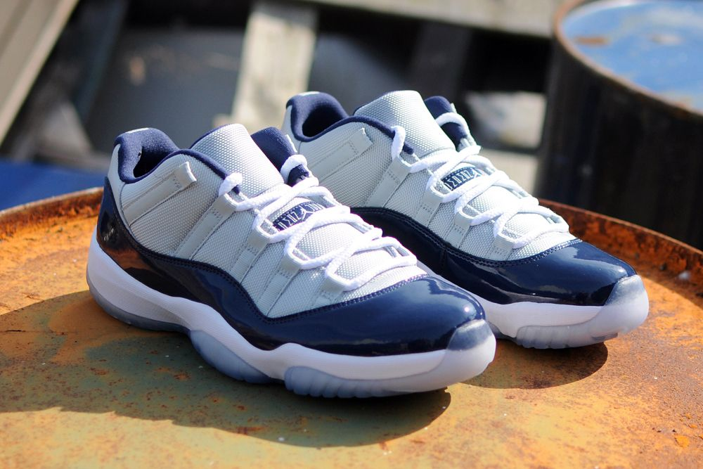 Air Jordan 11 Retro Bas Georgetown 11s Libération