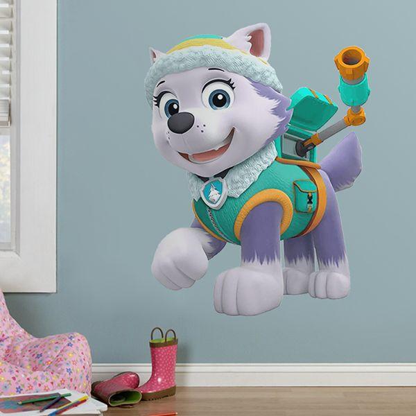 stickers pour enfants la pat patrouille paw patrol. Black Bedroom Furniture Sets. Home Design Ideas