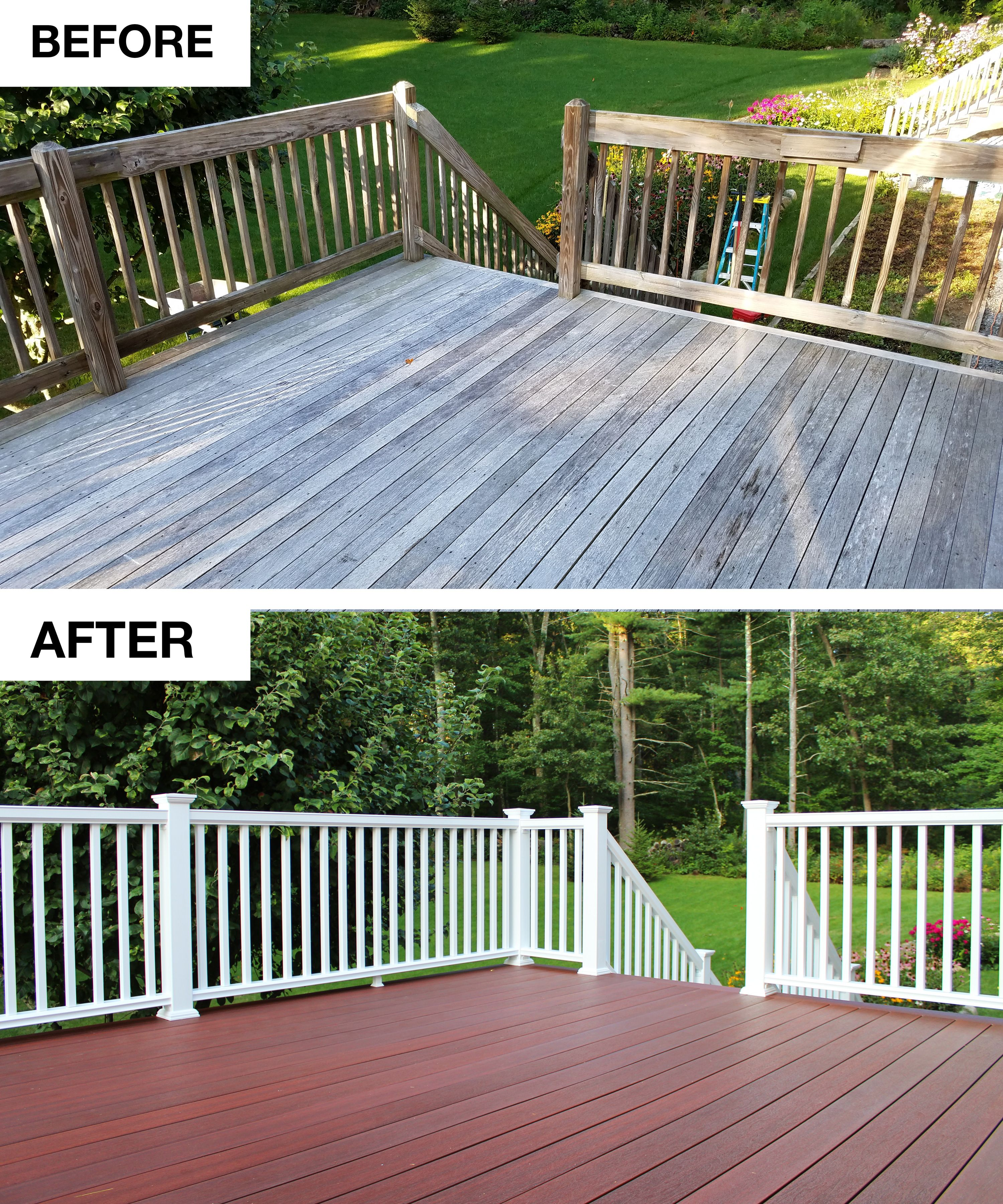 Is Your Deck Worthy Of An After Shot If Not Getting There Is
