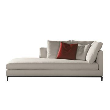 Andersen Slim Chaise Lounge Minotti Switch Modern Furniture Upholstered Furniture Chaise Lounge