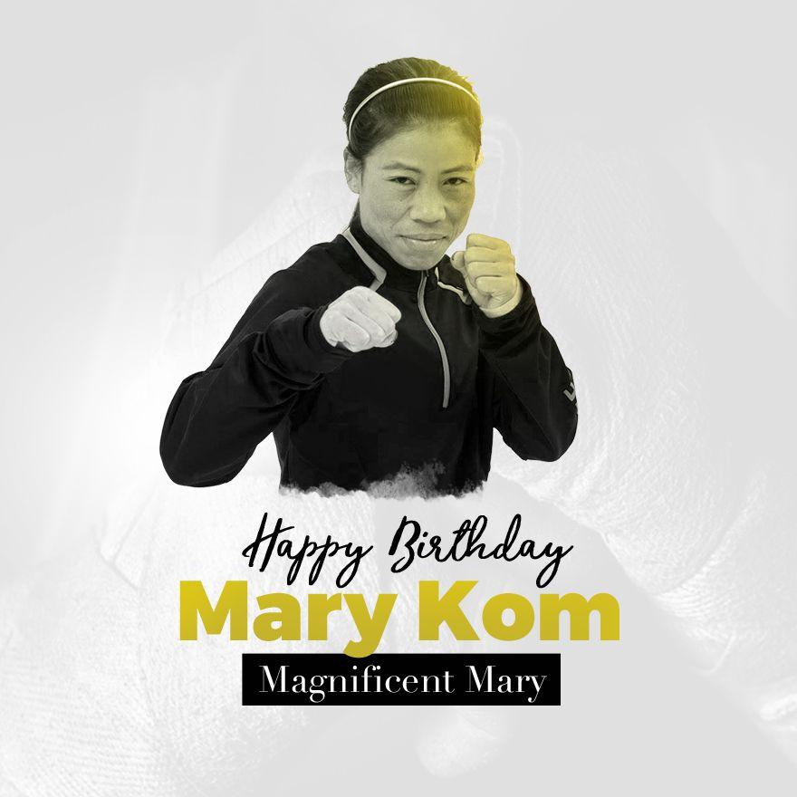 Happy Birthday Mary, Mary Kom, Boxer