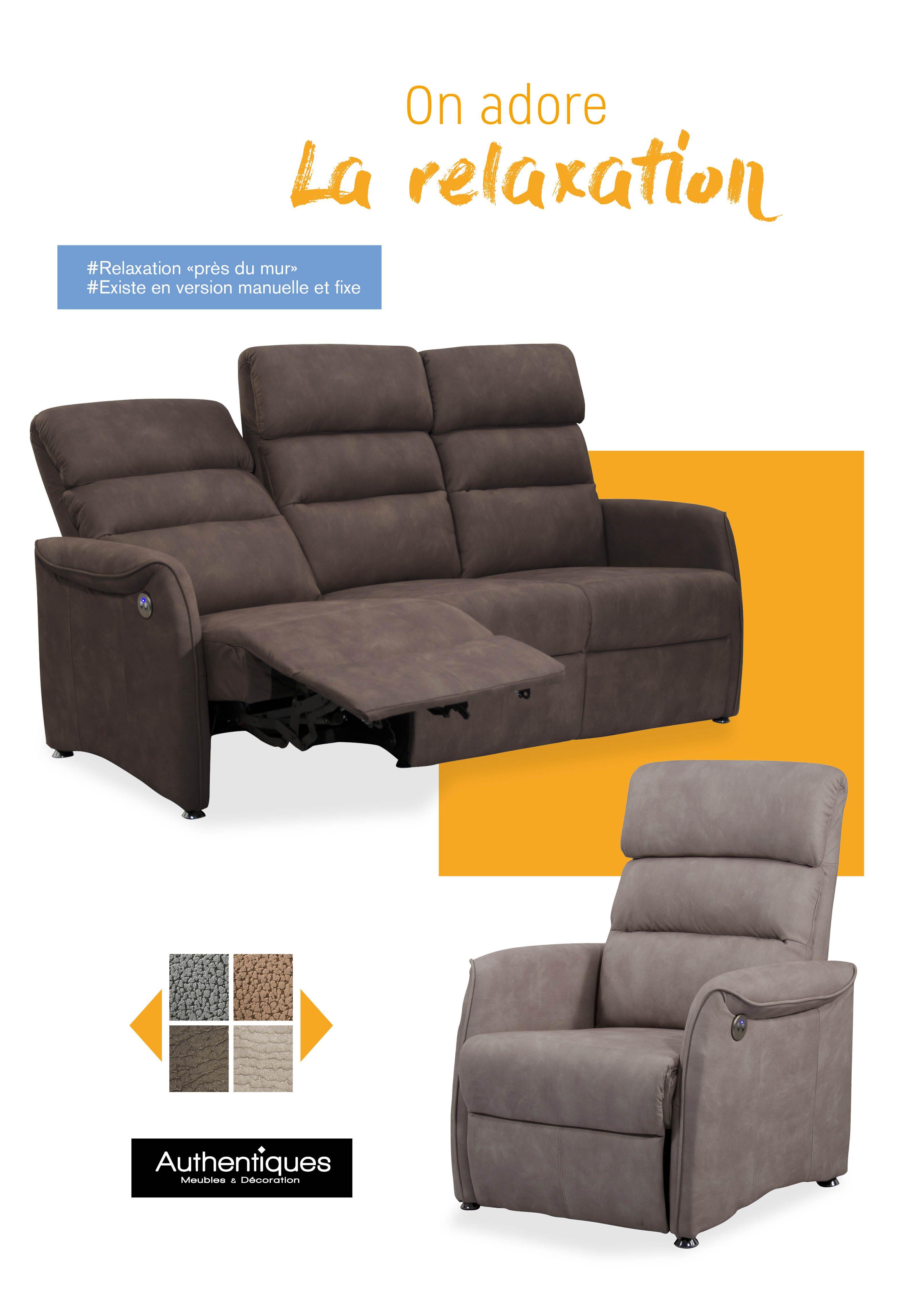& More Canapé, Disponible Avec Fonction Sit Sommeil