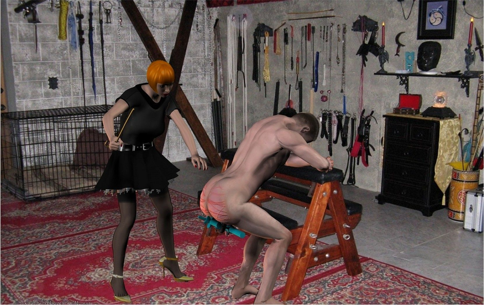 Princess Bedroom Ideas Read Sadistic Woman Punishes Slave Man In Basement Home