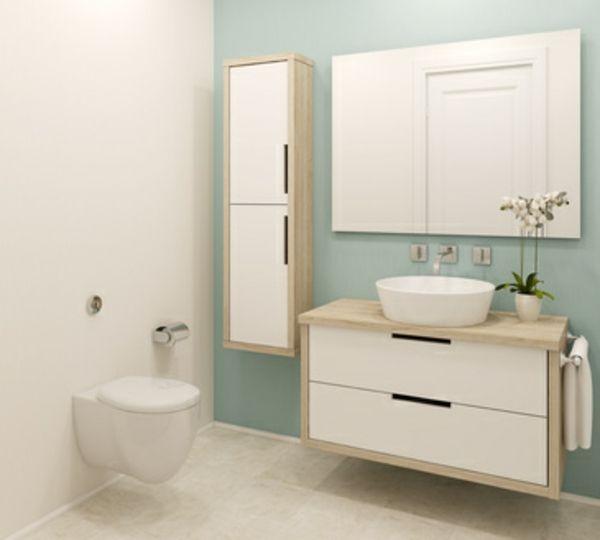 Badgestaltung Ideen: Farben, Accessoires und Licht spielen dabei ...