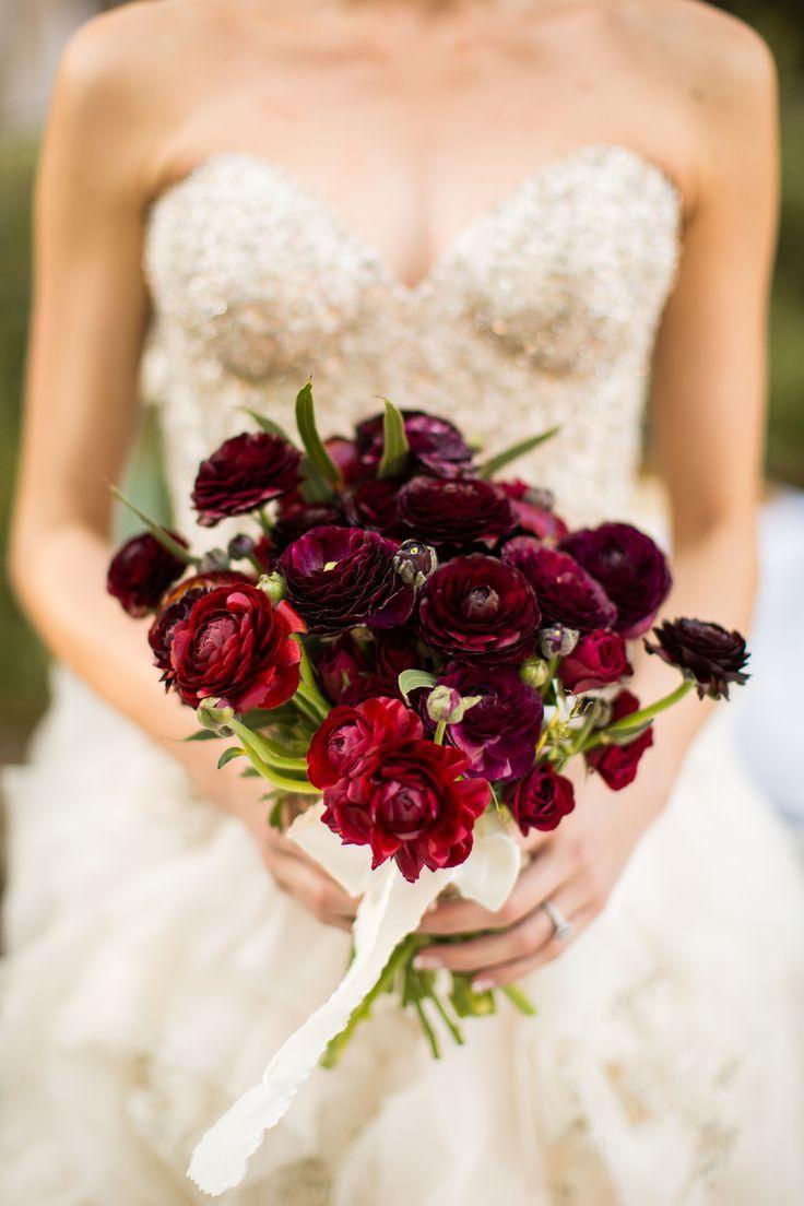 Elegant organic blush and red wedding ideas red wedding gold