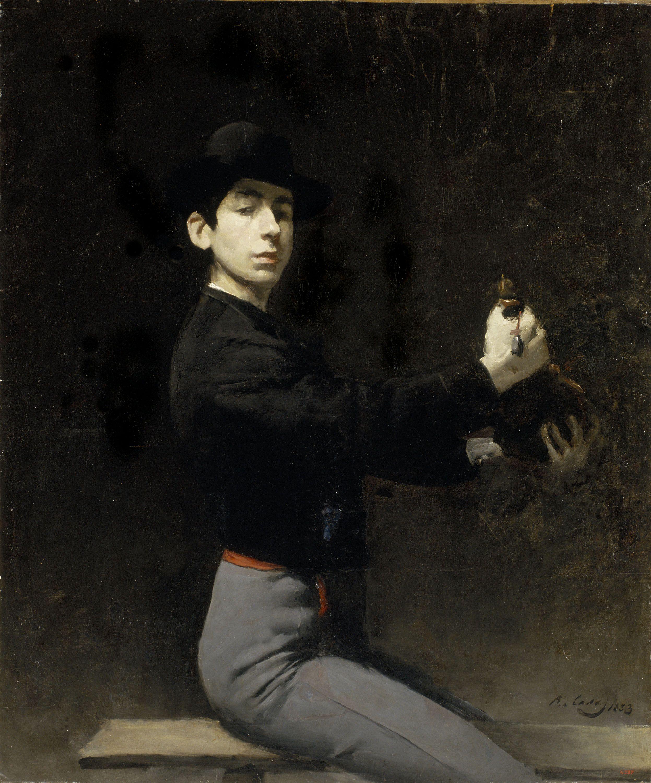 Ramon Casas Autoretrat, París, 1883, Oli sobre tela, 115