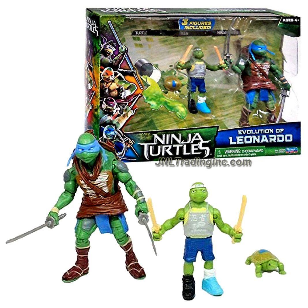 Teenage Mutant Ninja Turtles Evolution 3 Figure Set Leonardo Toy