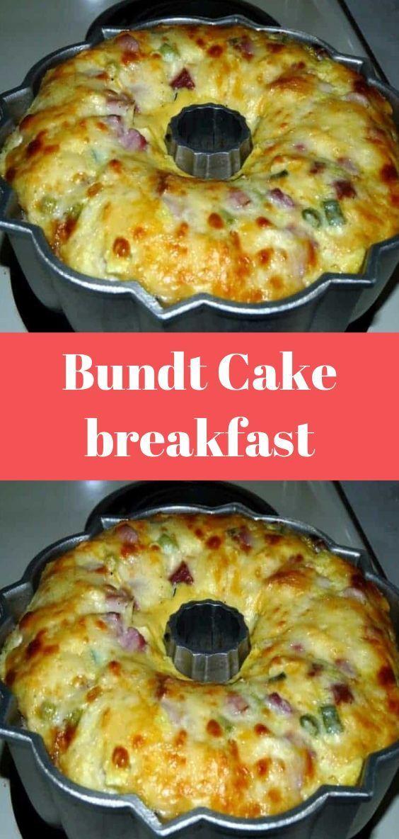 Cake breakfast