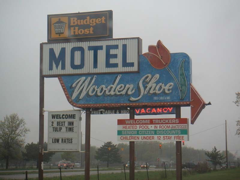 Image Result For Wooden Shoe Motel Holland Michigan