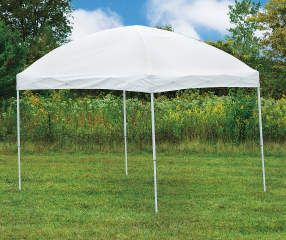 Wilson Fisher White Pop Up Sun Shelter 10 X 8 Big Lots