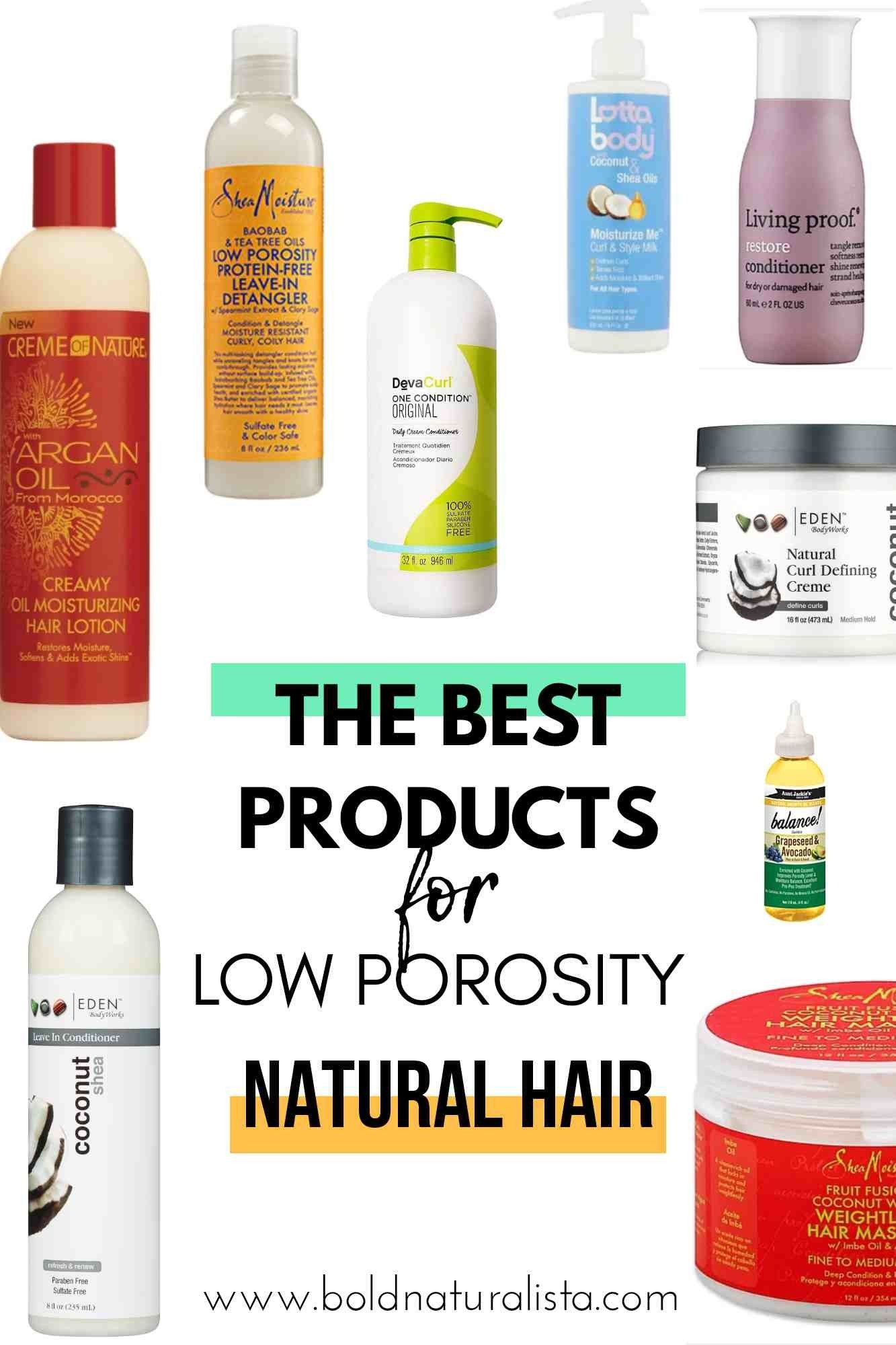 Best Products For Natural Hair In 2020 Low Porosity Hair Products Low Porosity Natural Hair Hair Porosity
