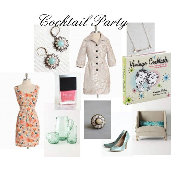 Cocktail Party, created by mammymurphy on Polyvore