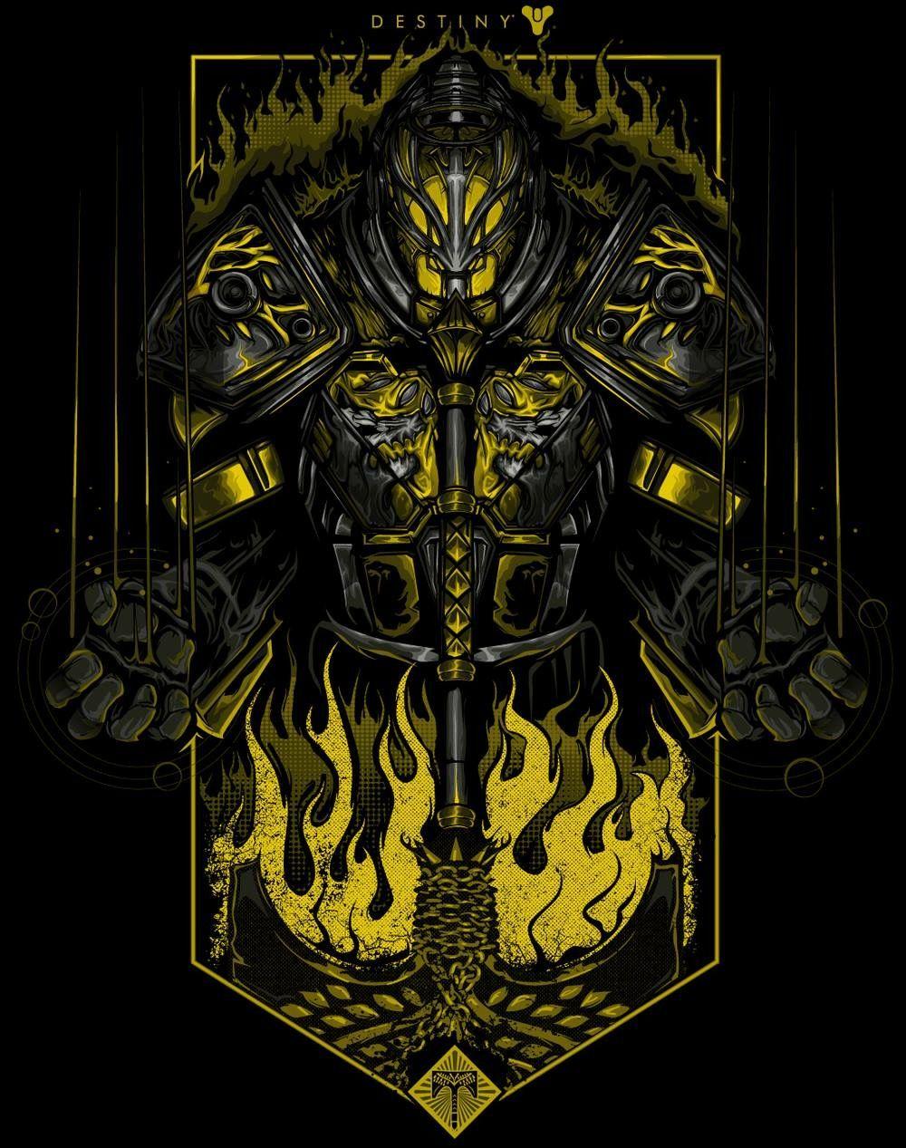 Destiny Fan Art Rise Of Iron By Alexceeart Destiny Game Love
