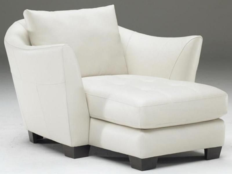 Leather Shaped Natuzzi Chaise Lounge White Natuzzi
