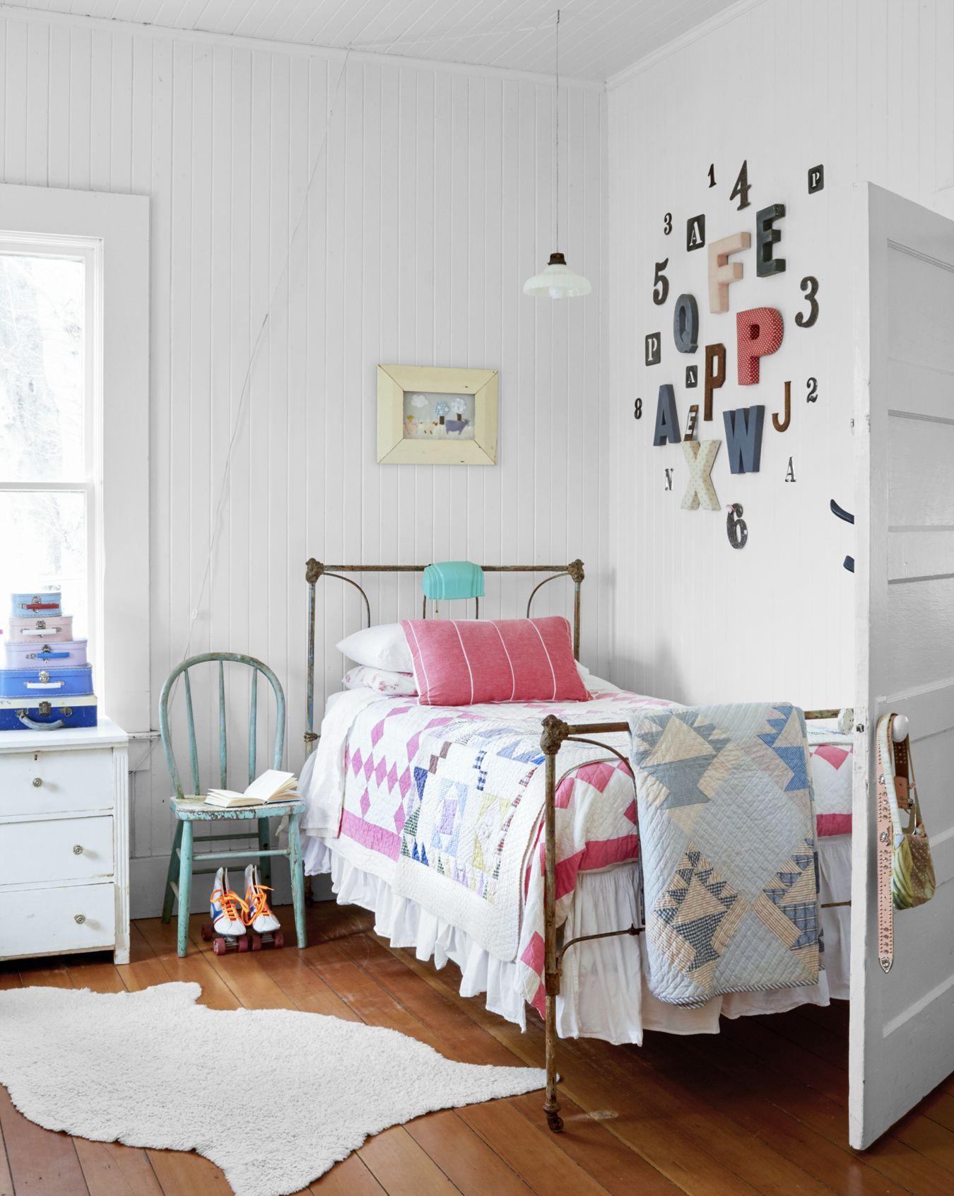 16 Vintage Decorating Ideas From Inside A 19th Century California Farmhouse Cute Bedroom Ideas Girl Bedroom Decor Girl Room