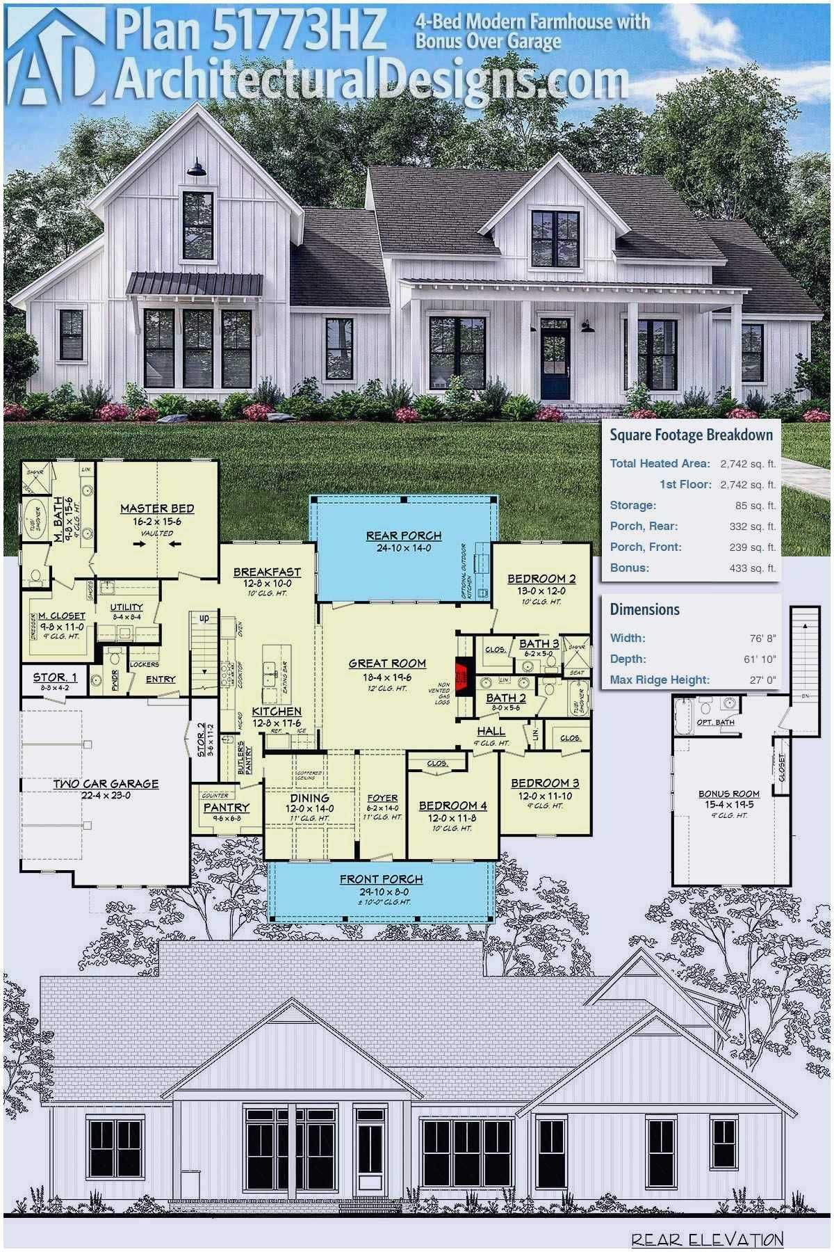 Country House Single Story Farmhouse Floor Plans Best Of Country House Single Story F Modern Farmhouse Plans Farmhouse Floor Plans Modern Farmhouse Floorplan