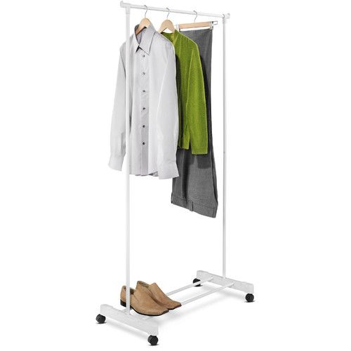 Found It At Wayfair Portable Garment Rack In White