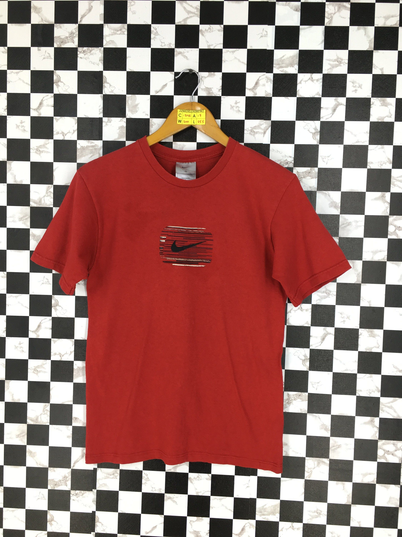 b67736b10 NIKE Swoosh Tshirt Small Ladies Vintage 90's Nike Streetwear Sportswear Big  Logo Nike Air Sport Nike