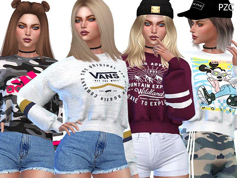 Sims 4 Clothing sets | Sims 4 | Sims 4 clothing, Sims 4, Sims resource