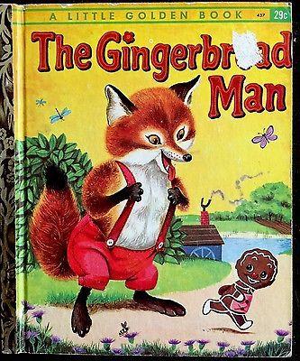 The Gingerbread Man Richard Scarry Vintage 1950 39 S Children