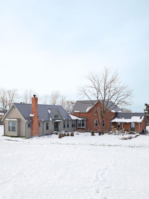 Sarah Richardson Farmhouse Exterior
