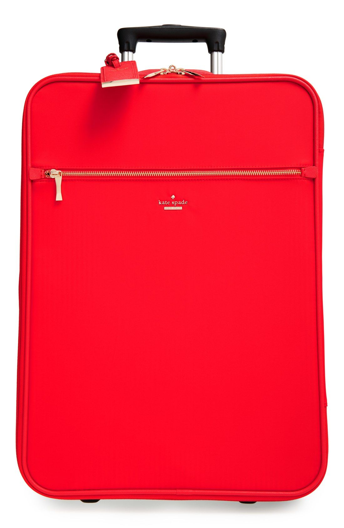 65e78a925d99 kate spade new york  classic  nylon international two-wheel carry-on  suitcase (20 Inch)