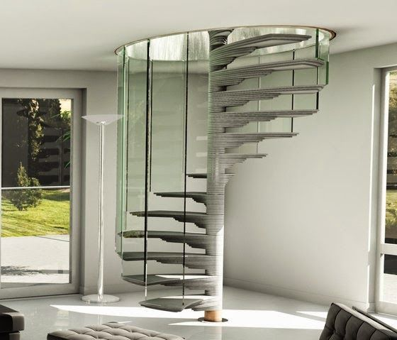 40 Trending Modern Staircase Design Ideas And Stair Handrails: Trends Of Stair Railing Ideas And Materials (interior