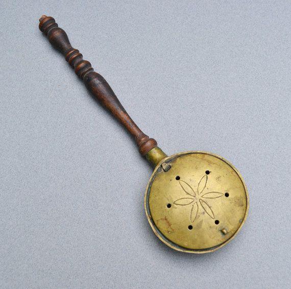 Miniature Antique Brass Bed Warmer Doll S Bed Warmer Antique Brass