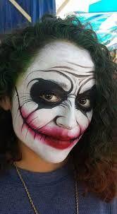 Bildergebnis Fur Halloween Joker Schminken Facepainting
