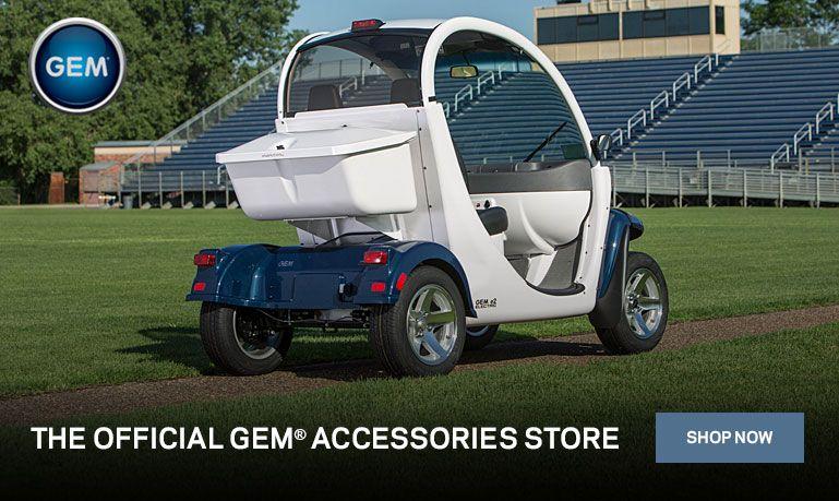 GEM Car Official Website Electric cars Polaris. via