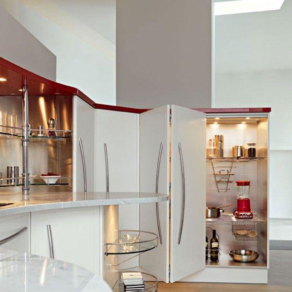 Cucina: la comodità dipende anche dall\'interno | Armadio dispensa ...
