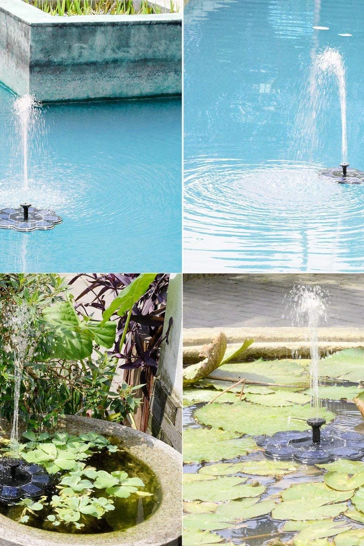 Solar Springbrunnen Brunnen Garten Springbrunnen Gartenbrunnen
