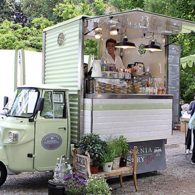 Orticola 2010 Coffee carts, Food truck, Food truck design