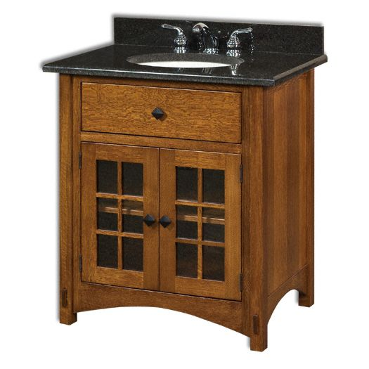 Springhill 33 W Bathroom Vanity Vanity Furniture Amish Furniture