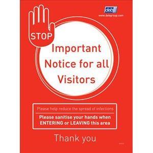 Cutan Hand Hygiene Compliance A4 Poster Hand Hygiene Hand