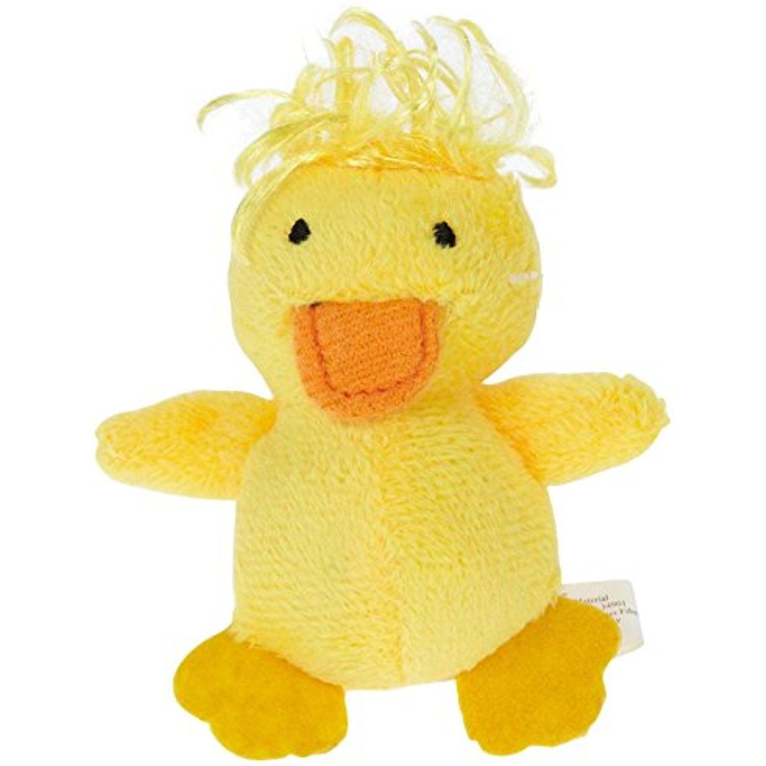 Multipet Look Who S Talking Plush Toy 1 25 Duck Click Image