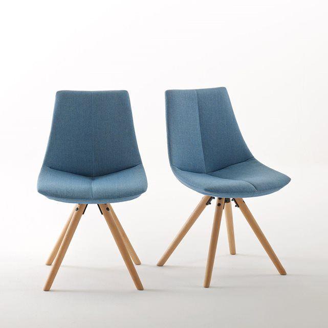 chaise rembourree asting lot de 2 la redoute interieurs la redoute mobile folding