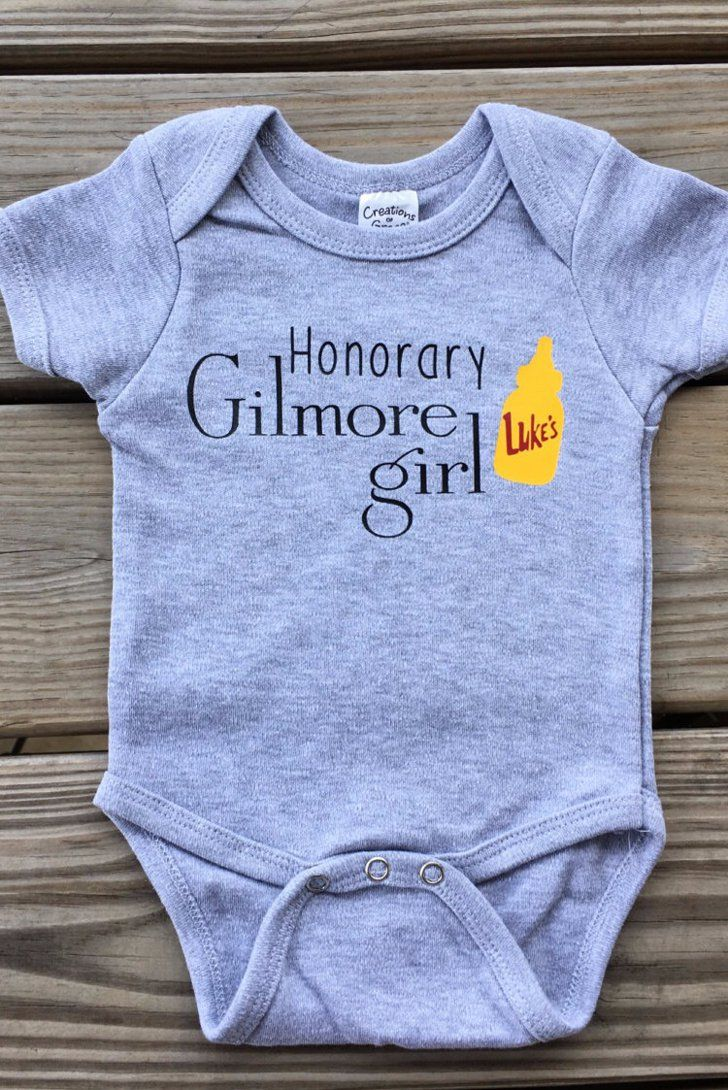 Oh my Gosh, my future little Lorelai will have this onesie! So cute