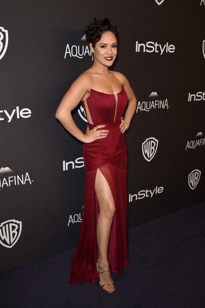 Grace Gealey attends The 2016 InStyle And Warner Bros. 73rd Annual Golden Globe Awards Post-Party