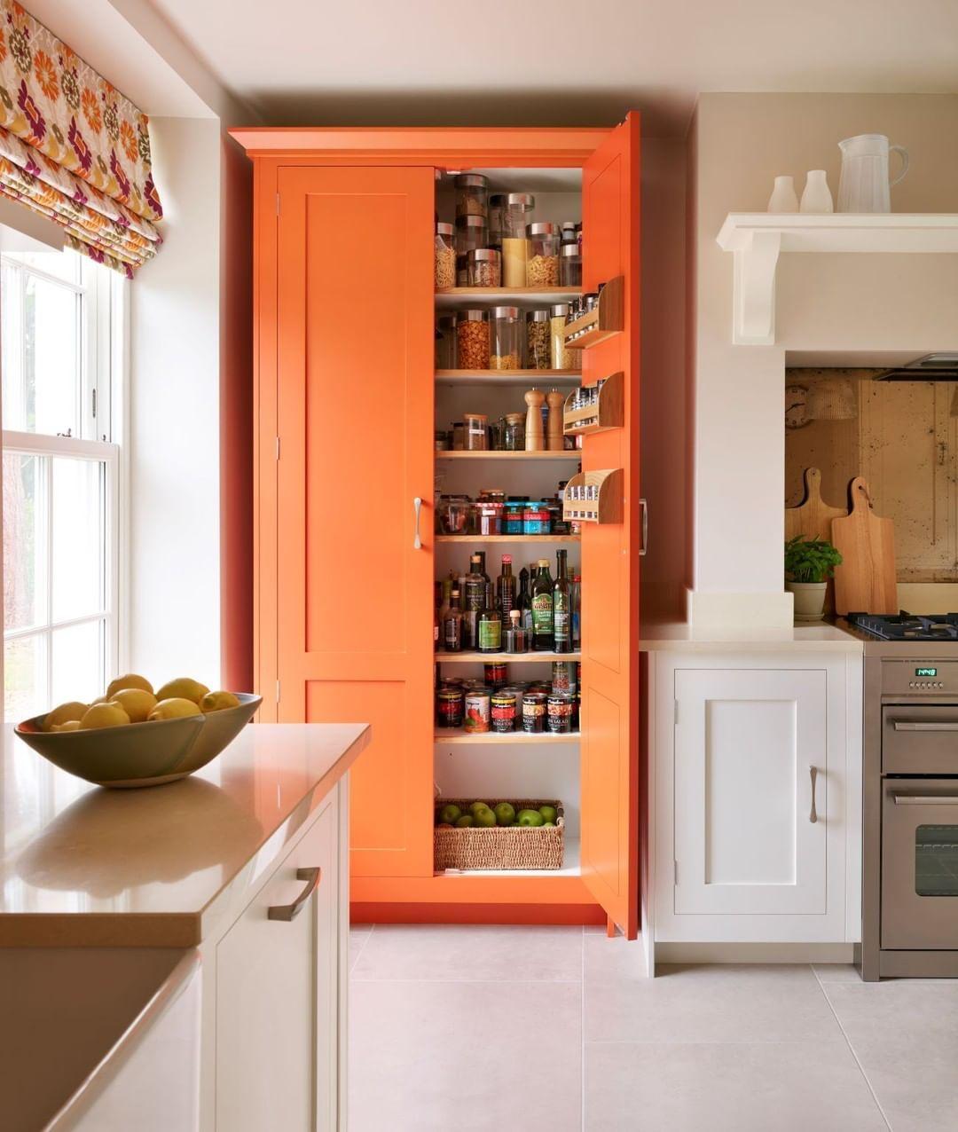 Harvey Jones Kitchens в Instagram «Orange may be a colour
