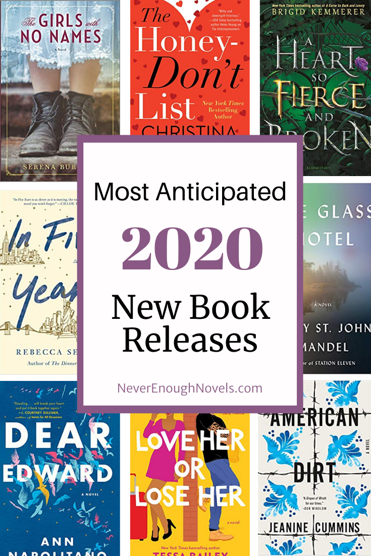 Must Read Books Coming in 2020 | Never Enough Nove