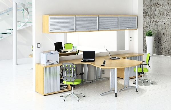20 Home Office Decorating Ideas For A Cozy Workplace Modern Office Design Home Office Design Office Furniture Modern