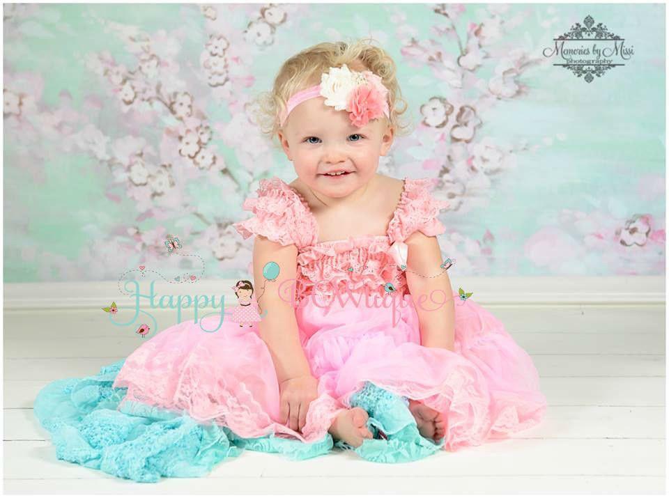 4cd99f948a81 Babydoll Pink Chiffon Lace Dress set