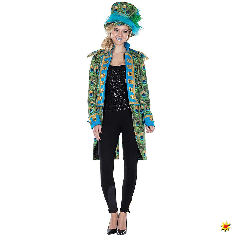 Orlob NEU Damen Kostüm Patchwork Frack Clown , Gr. 38 40